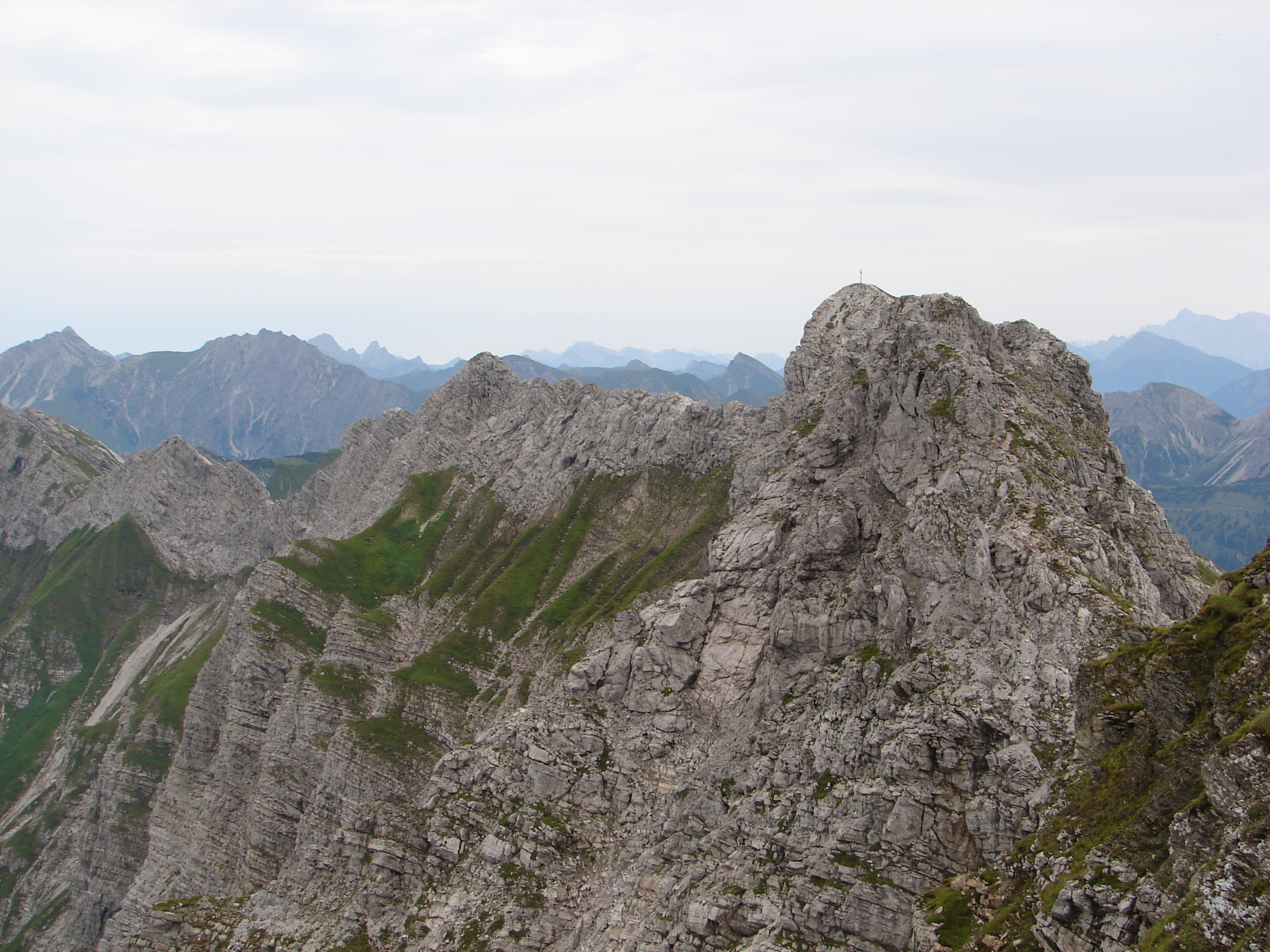 Hindelanger Klettersteig Wengenkopf : Wengenköpfe